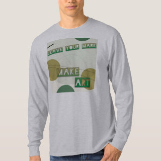 """Leave Your Mark Make Art"" Long-Sleeved Men's Tee"