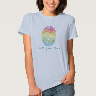 Leave Your Mark (rainbow) t-shirt