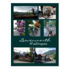 Leavenworth Collage Postcard