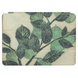 Leaves and Branches on Cream Background iPad Air Cover