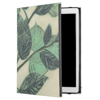 "Leaves and Branches on Cream Background iPad Pro 12.9"" Case"