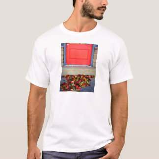 Leaves and Door T-Shirt