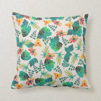 Leaves and Flowers Cushion