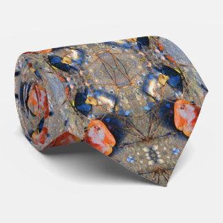 Leaves and Sea Shells Pattern, II Tie