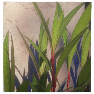 Leaves and Shadows Napkin