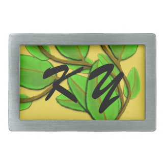 Leaves by Kenneth Yoncich Belt Buckle