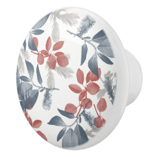 LEAVES Ceramic Knob