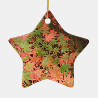 Leaves Christmas Ornament