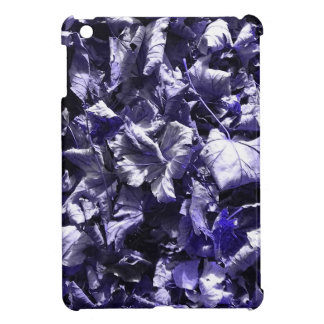 Leaves - Denim Blue Cover For The iPad Mini