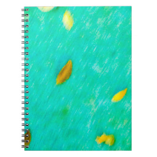 Leaves In Motion Notebook