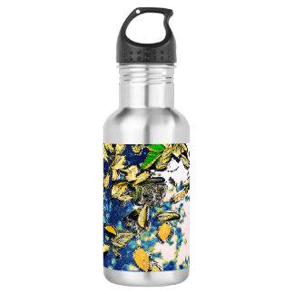 Leaves in the Rain 532 Ml Water Bottle