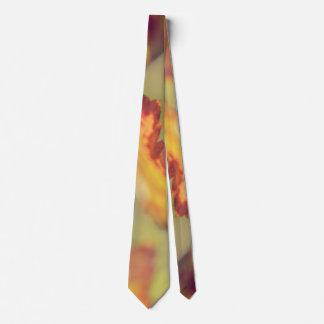 Leaves in the wind tie