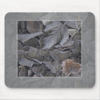 leaves mouse pad