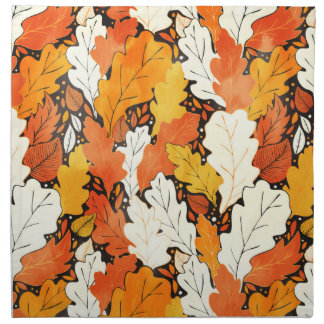 Leaves Napkin