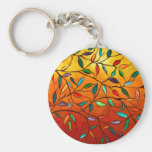 Leaves of Autumn Keychain