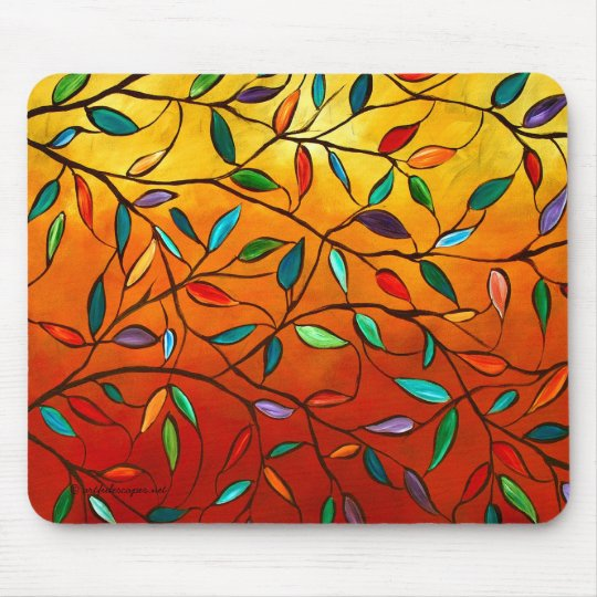 Leaves of Autumn Mousepad
