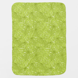 Leaves of Palm Tree Baby Blanket
