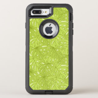 Leaves of Palm Tree OtterBox Defender iPhone 8 Plus/7 Plus Case