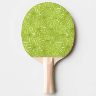 Leaves of Palm Tree Ping Pong Paddle