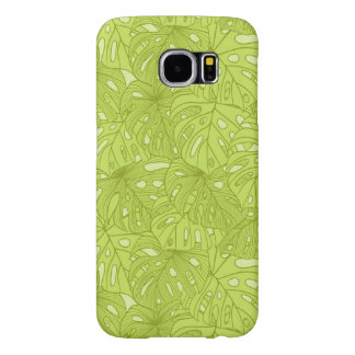 Leaves of Palm Tree Samsung Galaxy S6 Cases