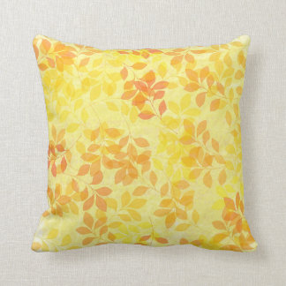 Leaves of Summer throw pillow