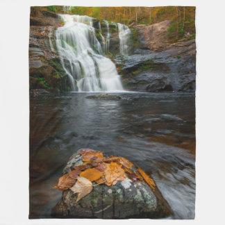 LEAVES on the WATER Fleece Blanket