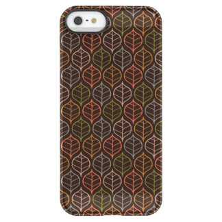 Leaves pattern permafrost® iPhone SE/5/5s case
