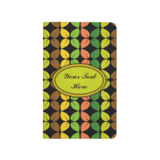 Leaves Pattern Pocket Journal