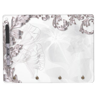 Leaves Poppies - Sliver White Eraser Board Dry Erase Whiteboards
