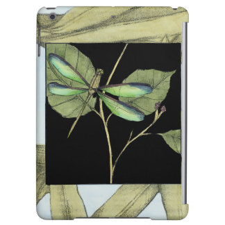 Leaves with Dragonfly Inset by Jennifer Goldberger