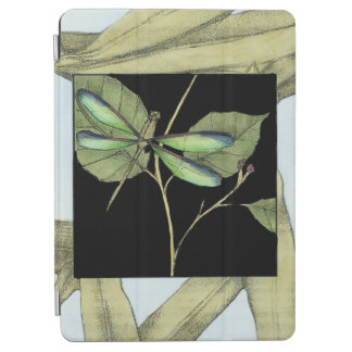 Leaves with Dragonfly Inset by Jennifer Goldberger iPad Air Cover