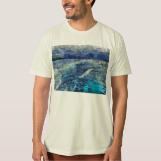 Leaving a wake behind t-shirt