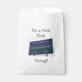 Leaving Brooklyn New York Fuhgeddaboudit Favour Bags