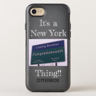 Leaving Brooklyn New York Fuhgeddaboudit OtterBox Symmetry iPhone 8/7 Case