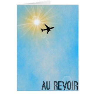 Leaving on a jet plane Card