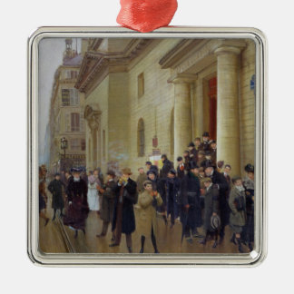 Leaving the Lycee Condorcet, 1903 Christmas Ornament