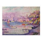 Leaving the Port of Saint-Tropez, 1902 Postcard