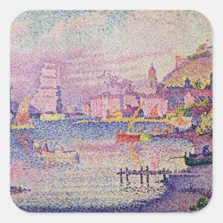 Leaving the Port of Saint-Tropez, 1902 Square Sticker