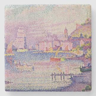 Leaving the Port of Saint-Tropez, 1902 Stone Coaster