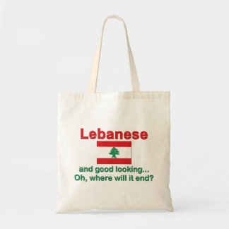 Lebanese and Good Looking Canvas Bag