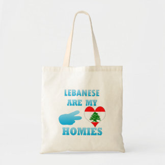 Lebanese are my Homies Canvas Bags