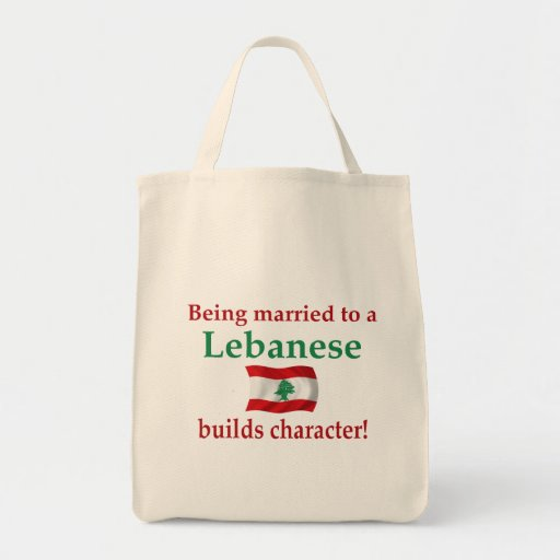 Lebanese Builds Character Bag
