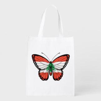 Lebanese Butterfly Flag