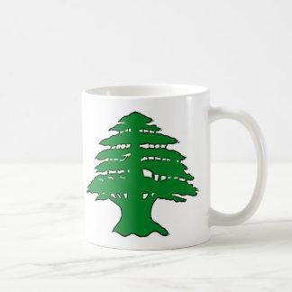 Lebanese Cedar Basic White Mug
