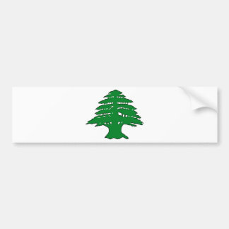 Lebanese Cedar Bumper Sticker