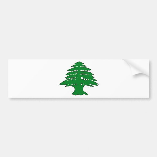 Lebanese Cedar Bumper Stickers