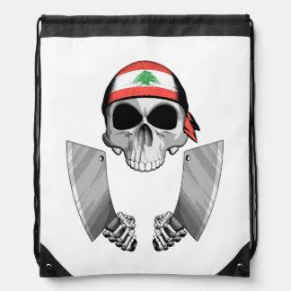 Lebanese Chef 2 Drawstring Bag