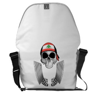 Lebanese Chef 2 Courier Bags