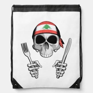 Lebanese Chef 4 Drawstring Bags