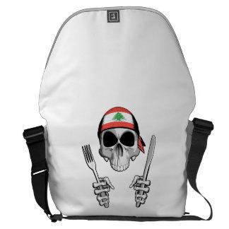 Lebanese Chef 4 Messenger Bags